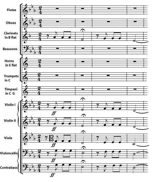 Pentagrammi musicali